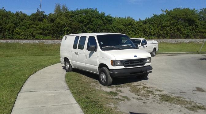 1997 Ford E-150 Cargo Van