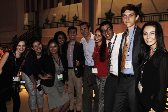 Penthouse party yields friendships (NAHJ 2015)