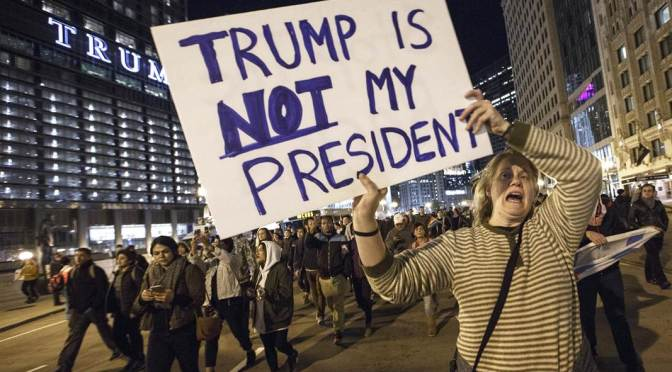 Why anti-Trump protests make me cringe