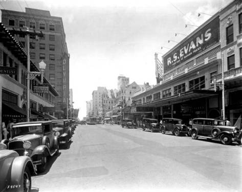 East Flagler Street in Downtown Miami, 1932